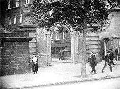 The gates of Scotland Yard in the early 20th century. http://www.atlasobscura.com/articles/essential-guide-secret-museums?utm_source=Atlas+Obscura+Daily+Newsletter&utm_campaign=5f3e6cb3bf-Newsletter_12_30_2016&utm_medium=email&utm_term=0_f36db9c480-5f3e6cb3bf-63203845&ct=t(Newsletter_12_30_2016)&mc_cid=5f3e6cb3bf&mc_eid=bb8db3a6a5