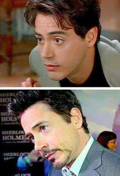 This man ages like fine wine 💖 Robert Downey Jr Joven, Robert Downey Jr Young, Beau Gif, Wanda Marvel, I Robert, Iron Man Tony Stark, Man Thing Marvel, Downey Junior, Marvel Actors