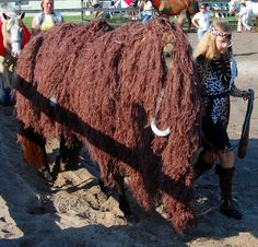 Horse Fancy Dress Ideas: Wooly Mammoth  The best list of costume class ideas ever! If I ever go to a show! Haha