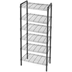 Pop It 4 Tier Heavy Duty Collapsible Storage Shelf Qvc
