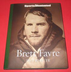 Brett Favre : The Tribute by Sports Illustrated Editors- 2008, Book NFL, Packers #BrettFavre #SportsIllustrated #book #NFL #GreenBayPackers #sports #football #HallOfFameNFL #quaterback #biography http://www.ebay.com/usr/vinylrockretro?_trksid=p2047675.l2559