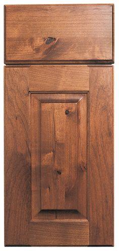 Royal Knotty Alder Cabinets