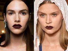 Mode Make-up Frühjahr-Sommer 2017   Mode