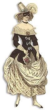 19th Century masquerade costume of a 17th Century Lady Pirate/Highway(wom)man