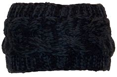 BWH Tight Cable Knit Headband/Ear Warmer Womens Small (One Size) - Black Best Winter Hats http://www.amazon.com/dp/B00NY3GUSQ/ref=cm_sw_r_pi_dp_XXgVub0ZR862H