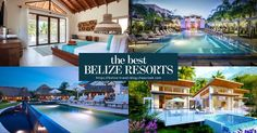 When it comes to Belize Resorts we're sure you've heard and read about all the great places to stay. Here's a list of the top resorts in Belize worth a look!