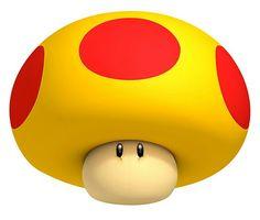 Mega Mushroom - Characters Art - New Super Mario Bros Mario Kart, Game Mario Bros, Mario Wii, Mario Video Game, Mario Y Luigi, Video Games Xbox, New Video Games, Wii Games, Super Mario 3d
