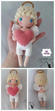 Mesmerizing Crochet an Amigurumi Rabbit Ideas. Lovely Crochet an Amigurumi Rabbit Ideas. Crochet Motifs, Crochet Patterns Amigurumi, Crochet Dolls, Knitting Patterns Free, Free Crochet, Crochet Geek, Free Pattern, Amigurumi Free, Amigurumi Doll
