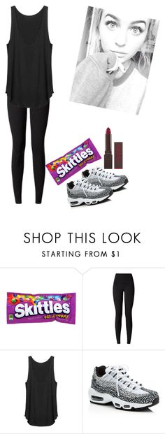 """""""Dancing with the Maknaes"""" by mia-narwhal on Polyvore featuring lululemon, NIKE and Burt's Bees"""