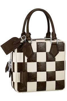 6a41616a2ba6 Louis Vuitton - Women s Accessories Defile - 2013 Spring-Summer Black and  White.
