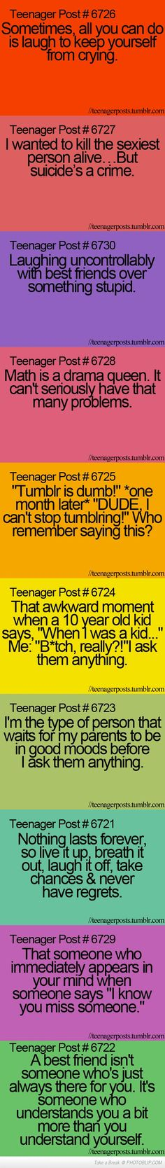 Teenager Posts Compilation