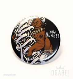 Shop the OGABEL Official Store - The most extensive collection of Street, Lifestyle Fashion, and Tattoo Style Original Art on accessories and T-Shirts for Men and Women Cali, Original Artwork, Buttons, Bear, Bears, Knots, Plugs, Button