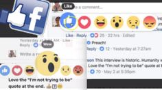 Facebook Reactions On Comments