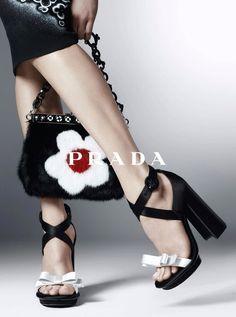 naimabarcelona:  Prada Ad Campaign