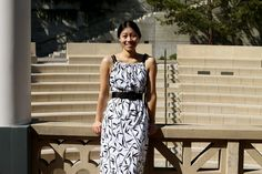 Easy dress to make -- just two rectangles