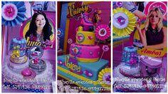 Soy Luna, decoracion, tortas, centros de mesa.