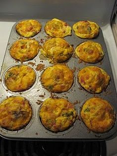 breakfast muffin, breakfast casserole muffins, easi breakfast, breakfast freezer recipes, muffin recip, breakfast casserole freezer, easy muffin, casserol muffin, freezer meal