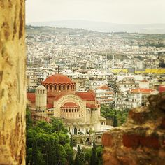 """#Greece #Thessaloniki"" Greece Thessaloniki, Historical Sites, Paris Skyline, Taj Mahal, Europe, Instagram Posts, Travel, Viajes, Destinations"