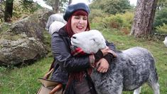 Meeting Herdwick Sheep at Yew Tree Farm in Coniston bought by Beatrix Potter in 1930 British Countryside, Sheep And Lamb, Beatrix Potter, Lambs, Lake District, England, Cottage, Cute, People