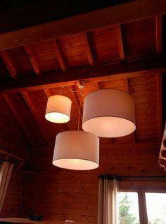 Ikea lamps modern chalet