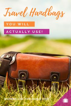 Travel handbags are a special breed - designed to keep thieves out and your belongings inside.