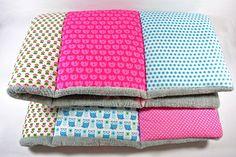 Babydecken - Krabbeldecke - ein Designerstück von glueckspilzig bei DaWanda