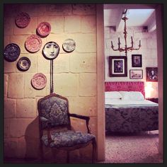 Maison La Vallette. Beautiful.  Highly recommend for a stay in Valletta.