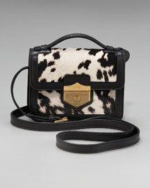 Alexander McQueen Bags at Neiman Marcus Bag Closet, Alexander Mcqueen Bag, Structured Bag, Designer Shoulder Bags, Cow Print, Small Shoulder Bag, Medium Bags, Luxury Bags, Scrappy Quilts