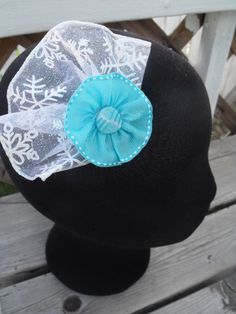 Disney Frozen inspired headpiece by FlossiesBlossom on Etsy, $5.00