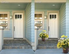 It's simple to style your front door with our pre-mixed annuals containers #onestepstyle #hgtvhomeplants --> http://hgtvhomeplants.com/know-how/entry/one-step-style-your-front-door.html