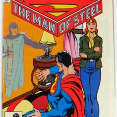 I checked out The Man of Steel #6 Last in Series Superman DC Comics (1987) on Lish, $1.99 USD