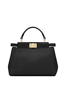 Fendi - Peekaboo Mini Satchel Fendi Peekaboo Mini 9890419cbc3cd