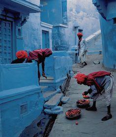 """ Jodhpur Fruit Vendor by Steve McCurry """