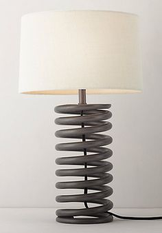 Industrial Spring Lamp