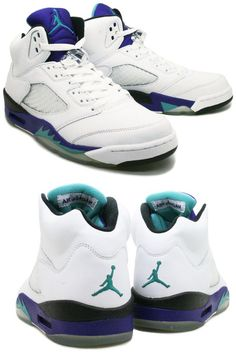 hot sale online a1524 5b9e8 Jordan V Retro White Grapes