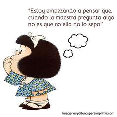 Resultado de imagen de mafalda pregunta