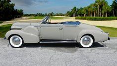 1939 Cadillac Fleetwood Model 75 Convertible Coupe