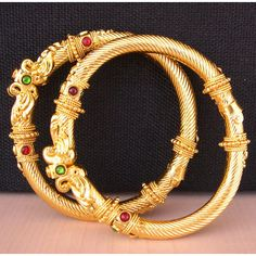 Indian Bangles Cuff Bracelet Bollywood Bangles Copper gold plated... ($12) ❤ liked on Polyvore featuring jewelry, bracelets, gold plated cuff bracelet, cuff bangle, bangle bracelet, hinged cuff bracelet and tribal jewelry