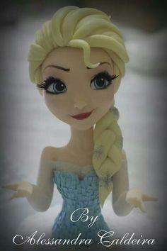 Topper by Alessandra Caldeira - Elsa Frozen