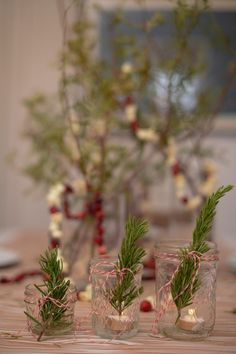 Table Decorations - Tablescapes For Holiday Dinners