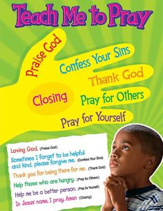 Teach Me To Pray Learning Chart found on www.mpmschoolsupplies.com