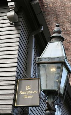 Paul Revere House 1680. Last remaining structure from 17th Century in ...