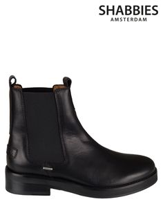 Shabbies Amsterdam   228044   Ankle boots   Black   MONFRANCE Webshop