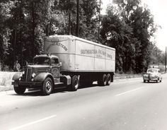 1000 images about classic aero trucks and trailers on Southeastern motor freight