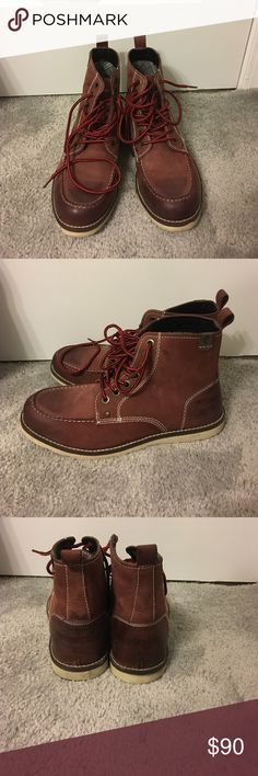 Crevo Men's 2 toned boots Only worn once! Great condition Crevo Shoes Rain & Snow Boots