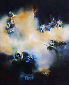 """""""Procesión"""" - Nicolas Federici - Técnica mixta - 120 x 90 cm www.esencialismo.com"""