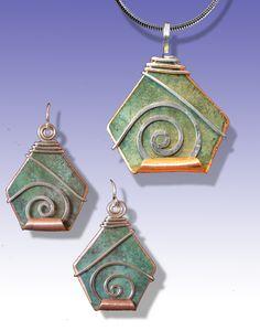 Berkshire earrings and pendant by Scott Lesh (www.LeDanse.com)