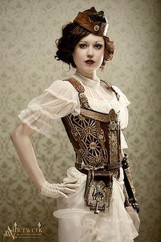 Women s steampunk fashions