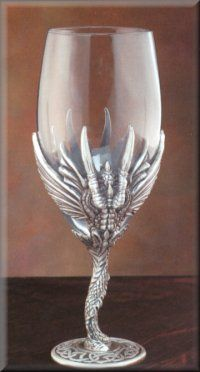 1000 images about chalices on pinterest wiccan altars and pewter - Pewter dragon goblet ...