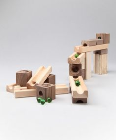 #1/2  Take a look at this TEDCO Blocks & Marbles Set by Adventures in Science: Books & Kits on #zulily today!
